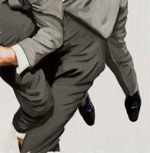 Luggage. 50x50 cm. Oil on canvas. 2010