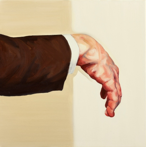 Hand. 50x50 cm. Oil on canvas. 2011.