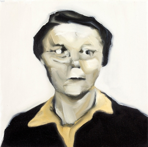 Hildegard. 30x30 cm. Oil on canvas. 2011.