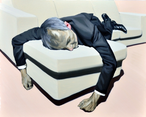 The big sleep. 80×100 cm. Oil on canvas. 2012