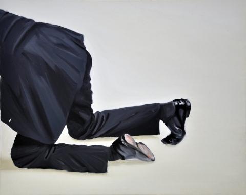 Leaver. Oil on canvas. 80 x 110 cm. 2012