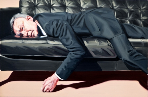 Home entertainment. 80×120 cm. Oil on canvas. 2012