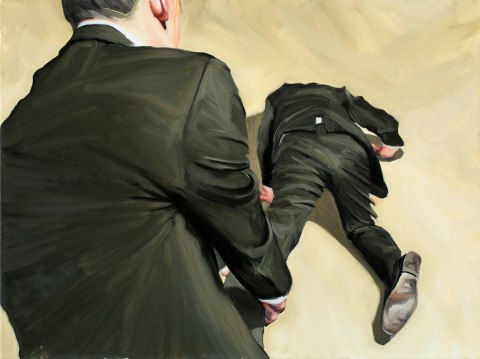 Onwards. Oil on canvas. 60x80 cm. 2013