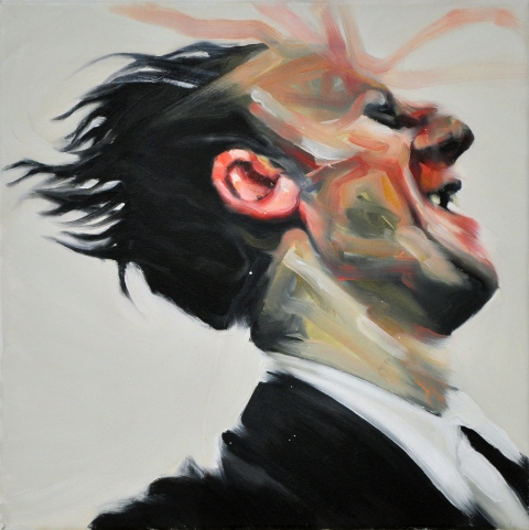 Fool No. 1. 40×40 cm. Oil on canvas. 2011.