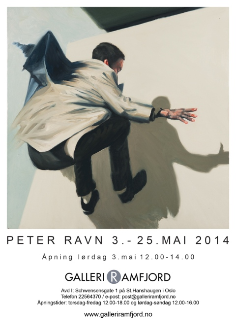 Peter Ravn Oslo poster 2014