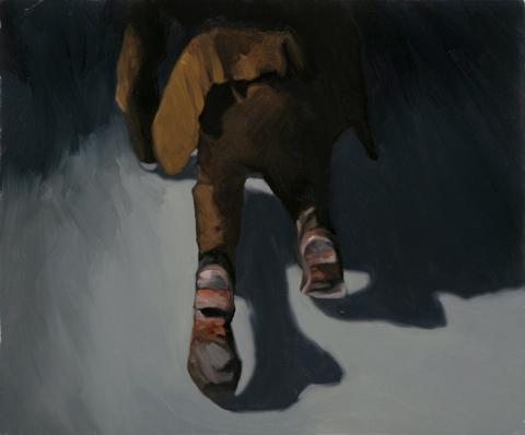 Back again. 50x60 cm. Oil on canvas. 2014