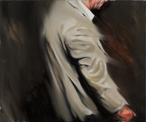 Nightwalker. Oil on canvas. 50×60 cm. 2014