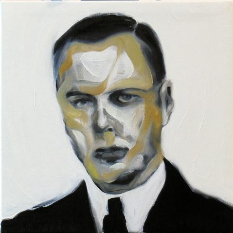 The chemist. Oil on canvas. 30 x 30 cm. 2015.