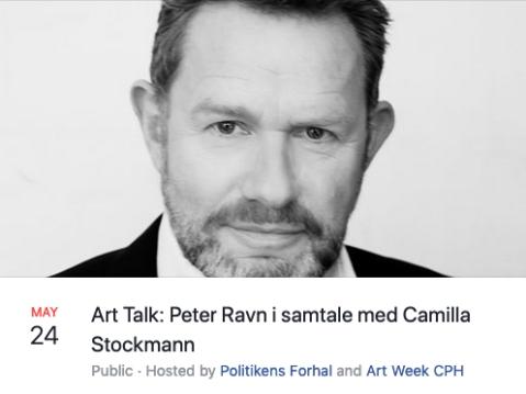 PR art talk Politiken